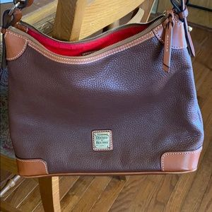 Dooney and Bourke pebbled leather bag